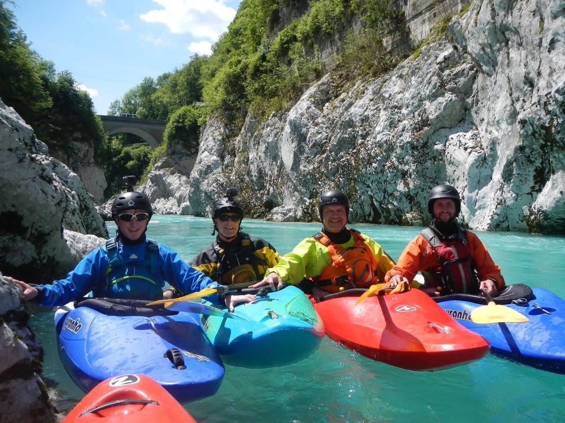Slovenia, River Soca 2018